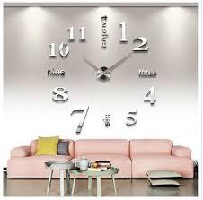 weitere uhren design wand uhr wohnzimmer wanduhr wandtattoo