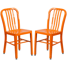 Industrial Design Orange Slat Back Metal Chair (2 Chairs) | Products ... Saddle Leather Ding Chair Garza Marfa Jupiter White And Orange Plastic Modern Chairs Set Of 2 By Black Metal Cafe Fniture Buy Eiffel Inspired White Orange With Legs Grand Tuscany Total Sizes Wd325xh36 Patio Urban Kitchen Shop Asbury With Chromed Velvet Vivian Of World Market Industrial Design Slat Back Products Flash Indoor Outdoor Table 4 Stack
