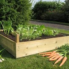 Raised Garden Bed Kit Untreated Timber 3 0m 10ft x 3 0m 10f