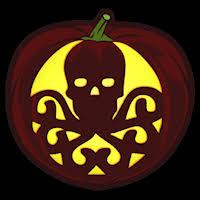 Sugar Skull Pumpkin Carving Patterns by Skull Script Co Stoneykins