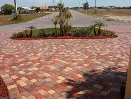 Furniture Magnificent Lowes Concrete Pavers New Circle Paver