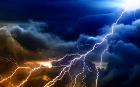 Lightning Sky Rain Nature Storm Clouds Thunderstorm Hd Wallpaper For Android Phone