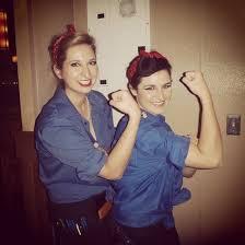 Rosie The Riveter Halloween Diy by Diy Halloween Costumes For Best Friends Popsugar Smart Living