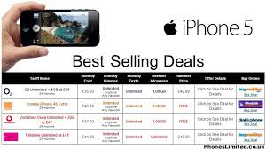 Best Selling Deals for iPhone 5 – Phones Limited – News Reviews
