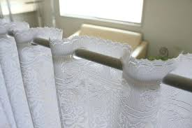 White Lace Curtains Target by White Cafe Curtains Zoom White Cafe Curtains Bathroom U2013 Rabbitgirl Me