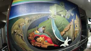 Denver International Airport Murals Meaning by Art At Denver International Airport Youtube