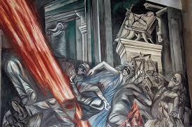 Jose Clemente Orozco Murales by Object Lesson Arts U0026 Culture Yale Alumni Magazine