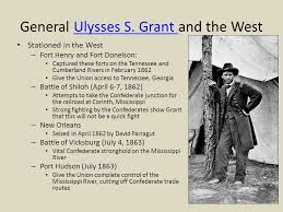 General Ulysses S Grant And The WestUlysses