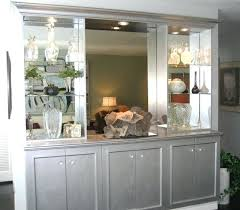 Built In Buffet Sideboard Cabinet Fascinating Dining Room Bar Images