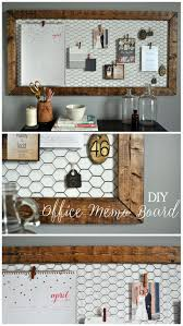 Easy DIY Rustic Office Memo Board Littleglassjar