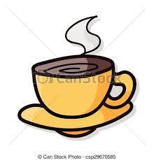 Coffee Color Doodle Vector