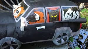 Gemmy Inflatables Halloween by Rare Gemmy Ghost Car Inflatable Youtube