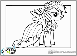 My Little Pony Coloring Pages Rainbow Dash Elegant Of