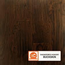 Engineered Hardwood Hand Scraped Hickory