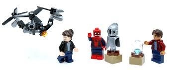 100 Lego Space Home Review LEGO 40343 SpiderMan Far From Minifigure Pack