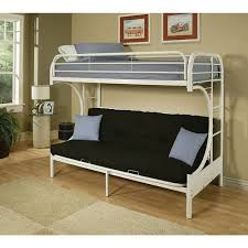 Bunk Beds At Walmart by Eclipse Twin Over Full Futon Bunk Bed Multiple Colors Walmart Com