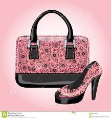 set of women u0027s handbags with paisley ornament stock vector image