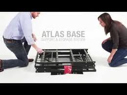Instamatic Bed Frame by Leggett U0026 Platt Atlas Bed Frame Support U0026 Storage Set Up Youtube