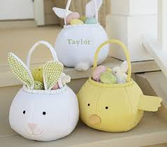 Pottery Barn Kids Puffy Easter Baskets Lady and the Blog