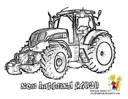Coloriage Tracteur KBACHACOM