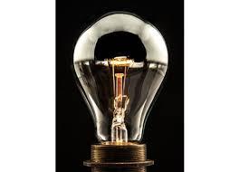 mirror light bulb reflector silver crown