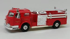 100 Diecast Fire Truck Buffalo Road Imports Pumper FIRE PUMPERS Model