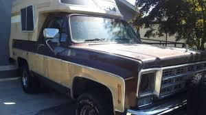 100 Blazer Truck At 2995 Is This 1977 Chevy Chalet A Camper That One Day