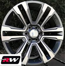 100 20 Inch Truck Rims X9 Inch RW GMC Denali 17 18 Wheels For Chevy Gunmetal