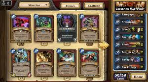 Warrior Hearthstone Deck Grim Patron by My New Warrior Meta Hearthstone Amino