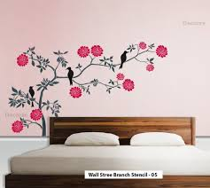 Nature Wall Tree Branch Art Stencil Large