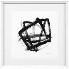casa padrino designer deko bilder 4er set schwarz weiß 58 x h 58 cm luxus kunstdrucke