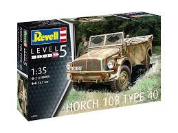 100 Plastic Truck Model Kits Revell 135 Horch 108 Type 40 Kit 03271 2199