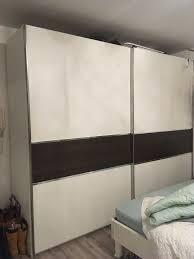 mann mobilia schlafzimmer schrank mit schiebetüren und 1 60 bett