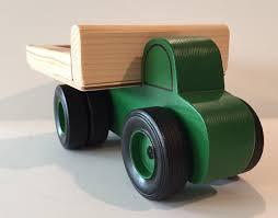 100 Toy Farm Trucks Work Truck Green With Dually Wheel On Rear Etsy