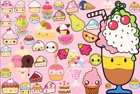 Cute Kawaii Food Wallpaper 8N336D7 116 Mb