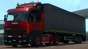100 Euro Truck Simulator 3 10 2 SCANIA FIX And MIX Mods YouTube