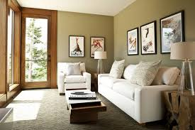Living Room Rustic Decorating Ideas For White Standing Lamp Simple Sofa Furniture