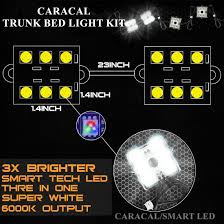 CARACAL 8PC Pickup/Truck Bed/Work Box Waterproff White 48 LED ... 60 Trailer Turn Signal Truck Reversing Brake Running Drl Tailgate Bed Tool Box Light Kit With Autooff Delay Switch 4pc 12inch 201518 Ingrated F150 Cargo Area Premium Led Lights F150ledscom Led Lights For Of Decor 8 Blue Rock Pods Lighting Xprite Multi Color 4 To 6 Boogey Amazoncom Mictuning 2pcs White Strip Magnetic Under The Rail Lux Systems 92 5 Function Trucksuv Bar Reverse Strips Trucks