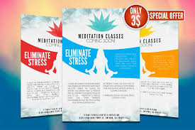 Information Flyer Template Photoshop Templates That Define Success Free
