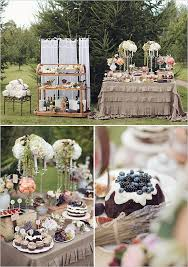 Classic And Elegant Russian Wedding Dessert TableElegant