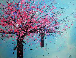 Rhcom Acrylic For Beginners Tutorials Step By How To On Rhmamakbiz Abstract Art Tree Easy