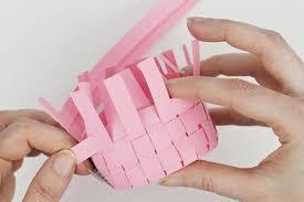 DIY Woven Paper Mini Basket Step 5