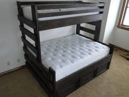 best of gallery of bunk beds twin over queen furniture designs