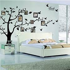 Large Family Tree Wall Decal Peel Stick Vinyl Sheet Easy To Install