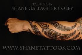 Maori Forearm Tattoo TaMoko
