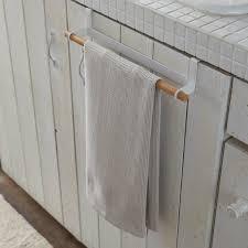 weißer küchenhandtuchhalter tosca yamazaki