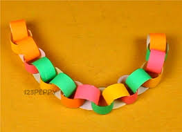 How To Make Paper Crafts For Kids Chain Online 123peppy
