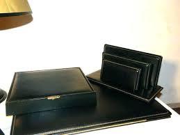 parure de bureau en cuir parure bureau cuir parure de bureau en cuir ensemble de bureau le