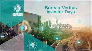 bureau verita investor days bureau veritas