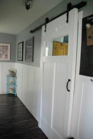 DIY Barn Door - Space Saving And Creative White Barn Door Track Ideal Ideas All Design Best 25 Sliding Barn Doors Ideas On Pinterest 20 Diy Tutorials Jeff Lewis 36 In X 84 Gray Geese Craftsman Privacy 3lite Ana Door Closet Projects Sliding Barn Door With Glass Inlay By Vintage The Strength Of Hdware Dogberry Collections Zoltus Space Saving And Creative